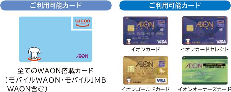 イオン クレジット カード 使え ない